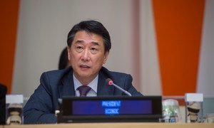 President of the Economic and Social Council (ECOSOC) Oh Joon.