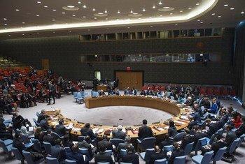 安理会会场。联合国/Amanda Voisard