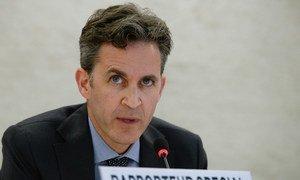 Le Rapporteur spécial des Nations Unies sur la liberté d'expression, David Kaye. Photo : ONU / Jean-Marc Ferré