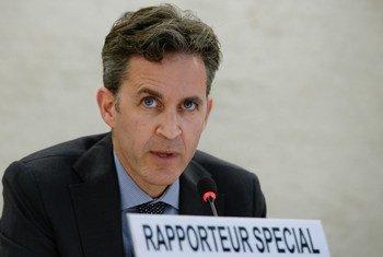 Le Rapporteur spécial des Nations Unies sur la liberté d'expression, David Kaye.