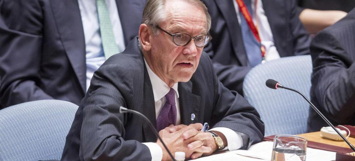 Deputy Secretary-General Jan Eliasson addresses the Security Council open debate on the situation in the Middle East, including the Palestinian question.