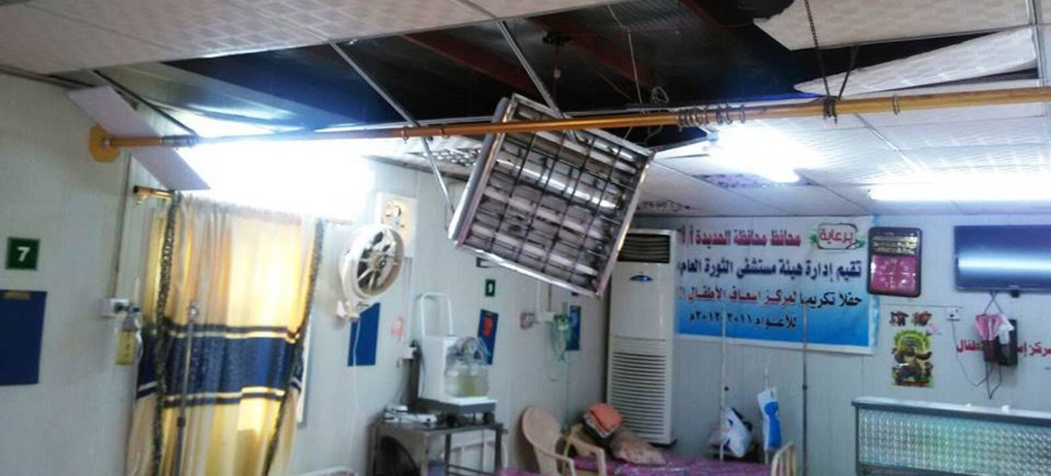 WHO estimates that at least 51 hospitals have been damaged or partially destroyed over the past six months due to the ongoing conflict in Yemen.