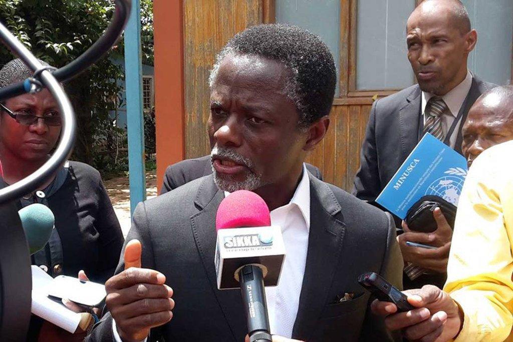 Le Secrétaire général des Nations Unies a nommé mercredi le Gabonais Parfait Onanga-Anyanga au poste d'Envoyé spécial de l'ONU pour la Corne de l'Afrique