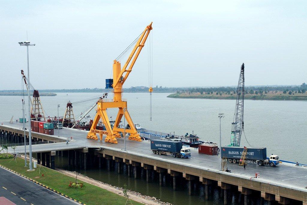 柬埔寨贸易港口。