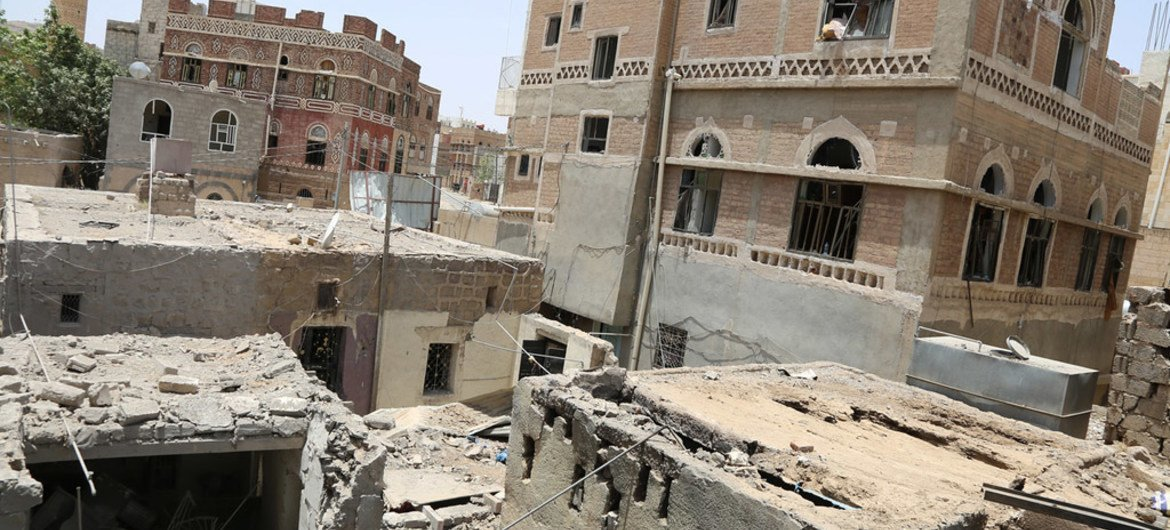 War-torn Yemen came under the threat of the powerful tropical cyclone Chapala in early November 2015.