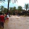 El ciclón Chapala tocó tierra en Yemen, inundando parte de la isla de Socotra. Foto: UNICEF Yemen/Ahmed Tani