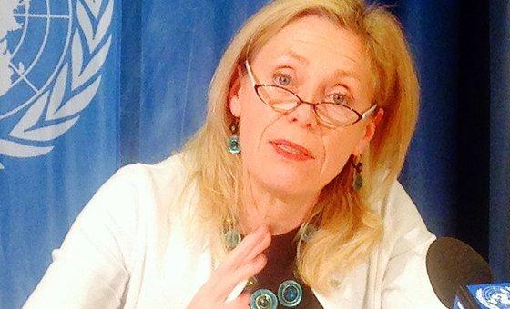 """Diretora regional do Unicef para África Ocidental e Central, Marie-Pierre Poirier, chamou a atenção para os """"números impressionantes"""""""