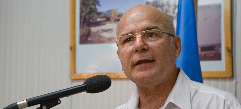 Michel Forst, relator especial de la ONU sobre la situación de los defensores de derechos humanos. Foto de archivo: MINUSTAH