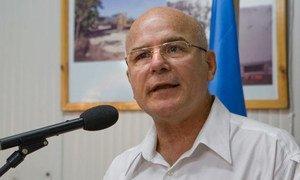 Michel Forst, relator especial de la ONU sobre la situación de los defensores de derechos humanos.