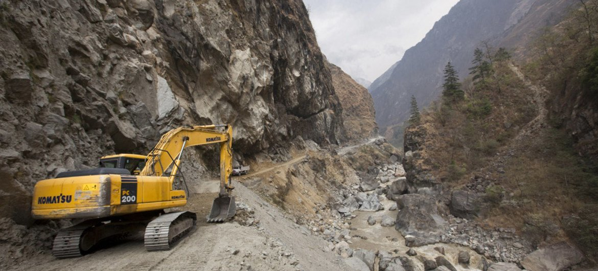 In Nepal, mountain infrastructure such as hydropower plants, roads, bridges and communication systems are at risk with climate change and more variability in water runoff.