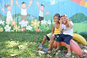 According to the UN Children's Fund (UNICEF), two years on, young survivors' of Typhoon Haiyan have come out resiliently of the disaster.