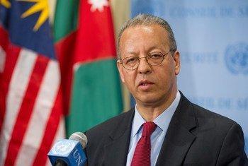 秘书长预防冲突问题特别顾问比诺马尔资料图片。联合国图片/Eskinder Debebe