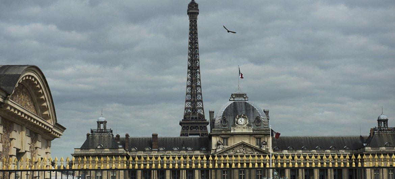 Vue de Paris, en France. Photo ONU/Mark Garten