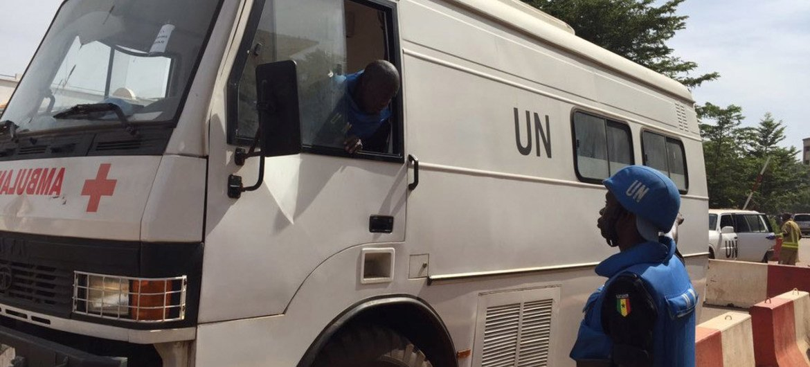 UN Stabilization Mission in Mali (MINUSMA) deploys medical needs following the terrorist attack on a hotel in the country's capital, Bamako.