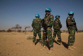 Efectivo de la MINUSMA, en Mali. Foto: MINUSMA/Marco Dormino