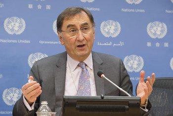 Janos Pasztor, subsecretario general sobre Cambio Climático. Foto: ONU/Eskinder Debebe