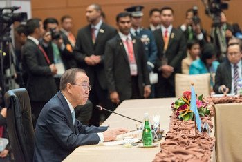 潘基文秘书长出席了第七届东盟 - 联合国领导人峰会