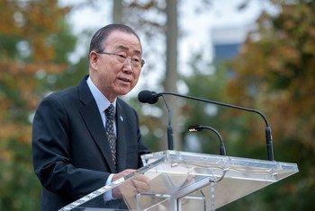 潘基文秘书长资料图片。联合国图片/Cia Pak