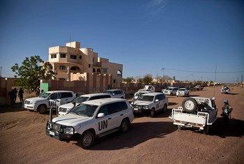 Un convoi des Nations Unies à Kidal, au Mali (archives). Photo MINUSMA/Marco Dormino