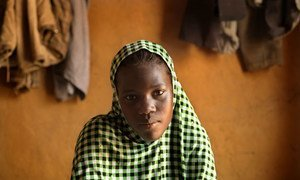 Nafissa, of Niger is 17. This photo was taken on 18 November 2015. She was married when she was 16. She has been married for 10 months, becoming pregnant 3 months after marrying. Nafissa's baby was still born 15 days ago.