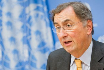 Janos Pasztor, subsecretario general de la ONU para el Cambio Climático. Foto: ONU/Rick Bajornas