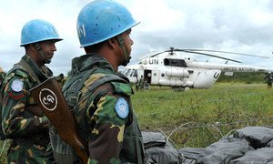 The United Nations Mission in South Sudan (UNMISS) peacekeepers in Likuangole Payam, Jonglei State (file photo)..