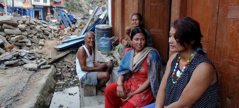 La catástrofe natural más devastadora fue el terremoto en Nepal que dejó 14.000 muertos, según cifras de la ONU. Foto: UNICEF/Chandra Shekhar Karki
