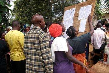 La últimas elecciones en la República Democrática del Congo tuvieron lugar en 2011. En esa ocasión fue reelecto el presidente Joseph Kabila. Foto de archivo: MONUSCO