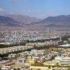 مشهد عام من مدينة قندهار، أفغانستان.