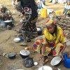 在喀麦隆寻求庇护的中非共和国难民。图片提供Monde Kingsley Nfor/IRIN