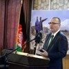 Subsecretario general de la ONU para Asuntos Políticos, Jeffrey Feltman, en Kabul, Afganistán. Foto: UNAMA/Fardin Waezi