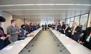 Pourparlers de paix à Genève sur le Yémen. Photo ONU/Jean-Marc Ferré