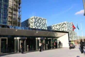 国际刑事法院在海牙的永久总部。图片:国际刑事法院—-CPI