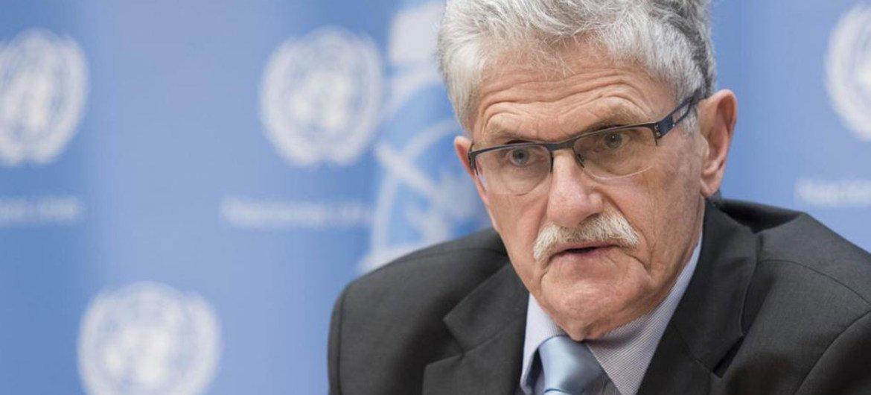 President of the General Assembly Mogens Lykketoft.