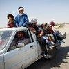 Afganos huyen a Europa en camionetas desde la provincia de Nimruz. La ONU calcula que entre enero y noviembre de 2015, más de 300.000 afganos huyeron de sus hogares. Foto: Jim Huylebroek