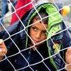 Niño refugiado en la frontera de Grecia con la ex República Yugoslava de Macedonia. Foto: UNICEF/Georgiev
