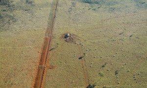 Deforestación en Brasil.