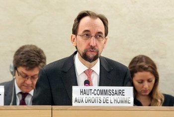 Le Haut-Commissaire des Nations Unies aux droits de l'homme, Zeid Ra'ad Al Hussein. Photo ONU/Jess Hoffman