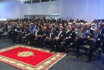 利比亚政治协议签署现场。联合国利比亚支助团图片