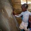 Mariam Soumaguel es una maestra de primaria en la escuela Alpha Moya, en Timbuktu, Mali. Foto: UNICEF/Dicko