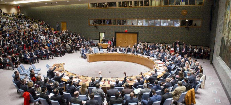 El Consejo de Seguridad adopta unánimemente resolución sobre Siria. Foto de archivo: ONU/Rick Bajornas.