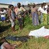 La violencia política ha hecho común el hallazgo de personas asesinadas en los alrededores de Buyumbura, la capital de Burundi. Foto: IRIN/Désiré Nimubona
