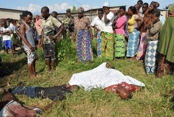 Трупы в окрестностях столицы Бурунди - совсем не редкость. Фото ИРИН/Дезире Нимубона