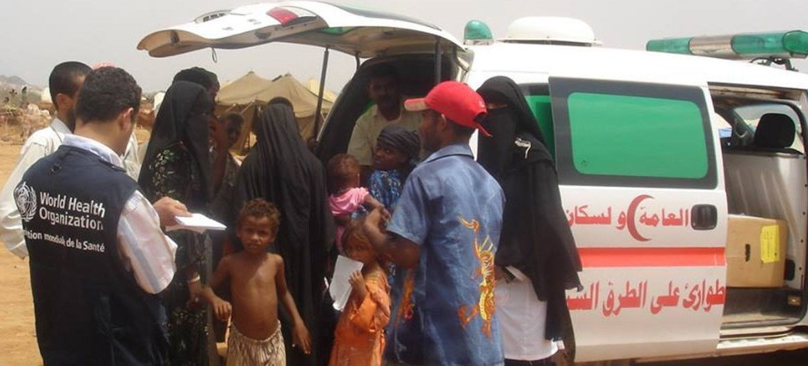 In some parts of Yemen, the conflict has crippled the health system, making the delivery of services and supplies extremely challenging.