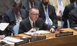 Under-Secretary-General for Political Affairs Jeffrey Feltman.