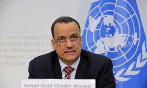 L'Envoyé spécial des Nations Unies pour le Yémen, Ismail Ould Cheikh Ahmed. Photo ONU /Elma Ocik