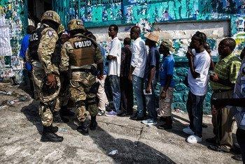 海地推迟总统大选  联合国图片/Logan Abassi
