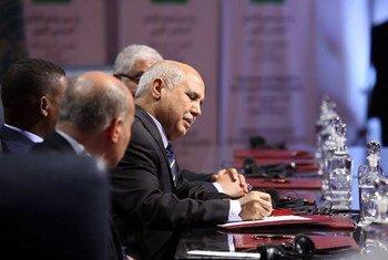 Подписание соглашения о создании в Ливии правительтва национального единства Фото МООНПЛ