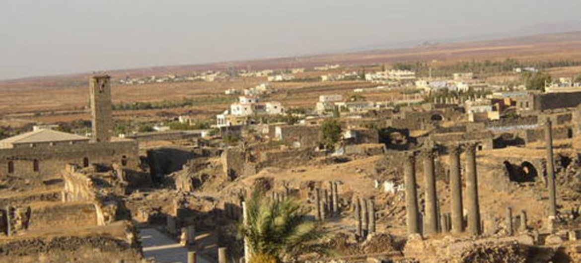 Ancient City of Bosra, Syrian, World Heritage site.