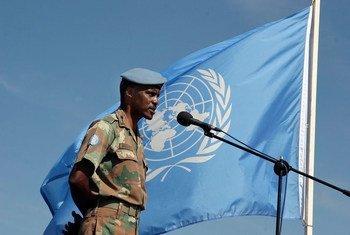 Lieutenant General Derrick Mbuyiselo Mgwebi of South Africa.